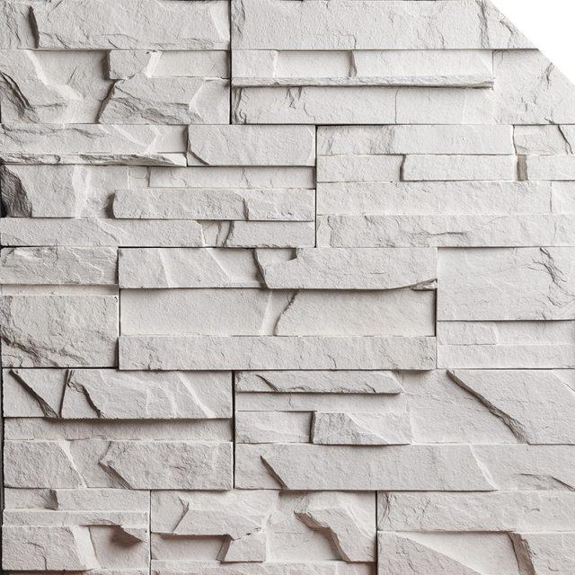 Newport Blanc Arctic | Les Pierres Royales | Fabricant de Pierres Décoratives | Intérieur-Extérieur