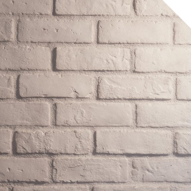 Briquette Blanc Artic | Royal Stones | Decorative Stones Manufacturer | Indoor and Outdoor Use