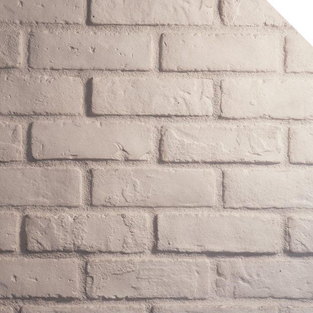 Briquette Blanc Artic | Les Pierres Royales | Fabricant de Pierres Décoratives | Intérieur-Extérieur