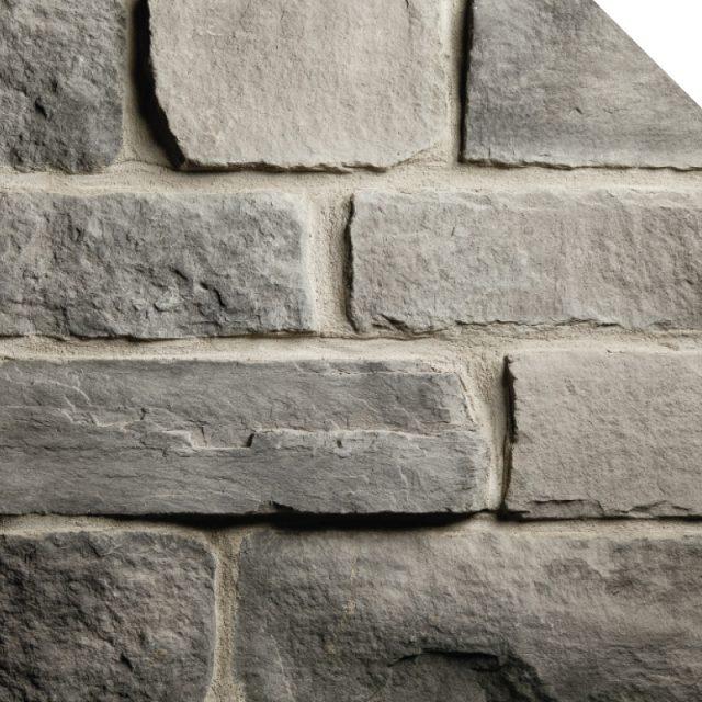 Cobble Stone Charcoal | Les Pierres Royales | Fabricant de Pierres Décoratives | Intérieur-Extérieur
