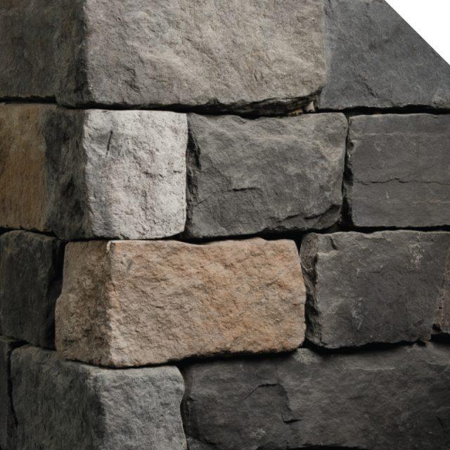 Coin | Cobble Stone | Les Pierres Royales | Fabricant de Pierres Décoratives | Intérieur-Extérieur