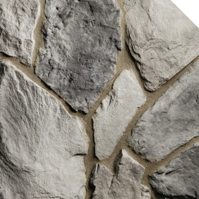 Field Stone Charcoal | Les Pierres Royales | Fabricant de Pierres Décoratives | Intérieur-Extérieur