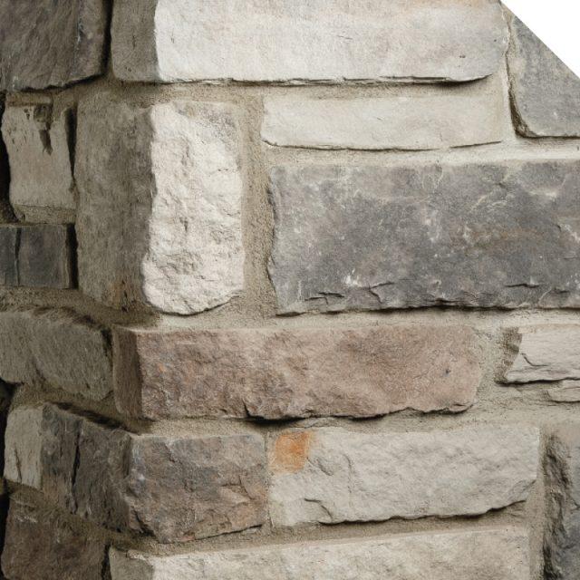 Coin | Ledge Cobble Stone | Les Pierres Royales | Fabricant de Pierres Décoratives | Intérieur-Extérieur