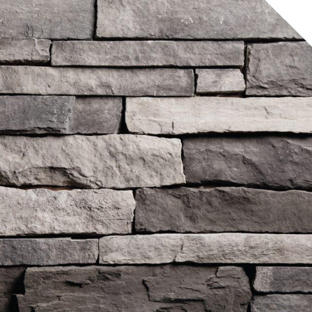 Ledge Stone Charcoal | Les Pierres Royales | Fabricant de Pierres Décoratives | Intérieur-Extérieur