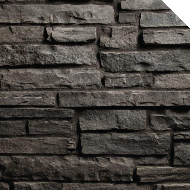 Ledge Stone Graphite | Les Pierres Royales | Fabricant de Pierres Décoratives | Intérieur-Extérieur