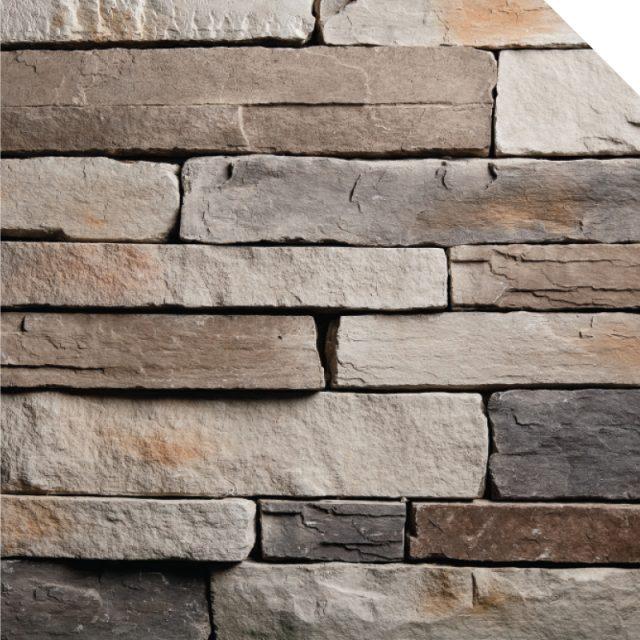 Ledge Stone Titane | Les Pierres Royales | Fabricant de Pierres Décoratives | Intérieur-Extérieur