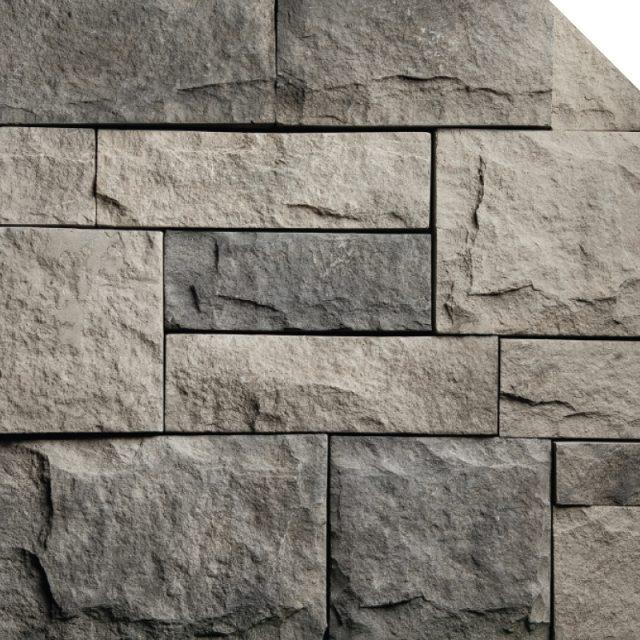 Lime Stone Charcoal | Les Pierres Royales | Fabricant de Pierres Décoratives | Intérieur-Extérieur