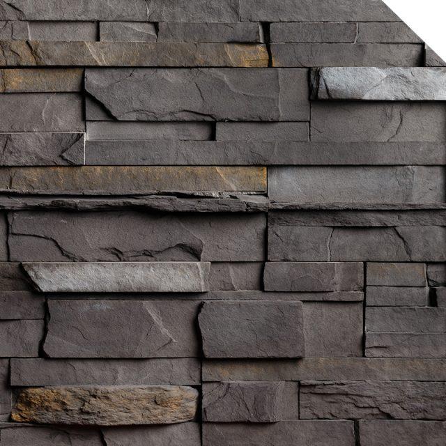 Newport Black Rundle | Les Pierres Royales | Fabricant de Pierres Décoratives | Intérieur-Extérieur