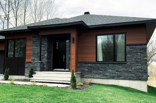Royal Stones | Ridge Stone | Black Rundle